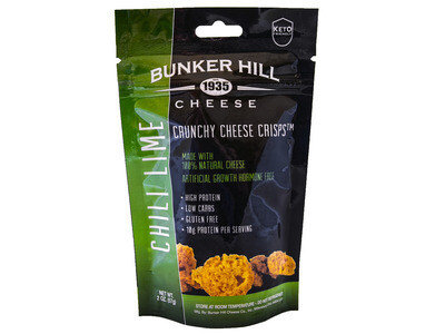 Bunker Hill Crunchy Cheese Crisps - Chili Lime