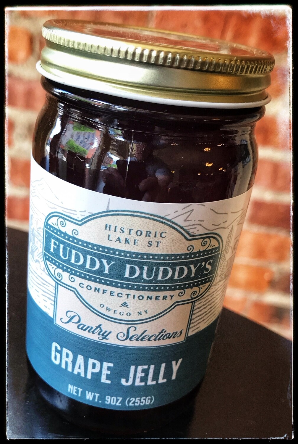 Fuddy Duddy's Grape Jelly - 9 oz
