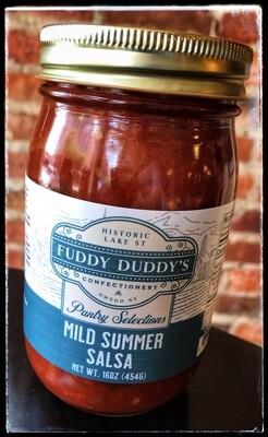 Fuddy Duddy's Mild Summer Salsa