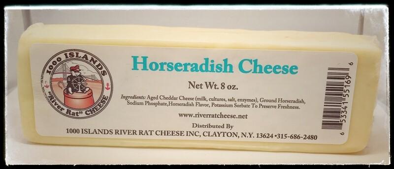 River Rat Horseradish Cheese