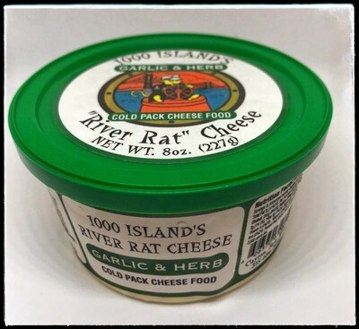 River Rat Garlic & Herb Cheese Spread