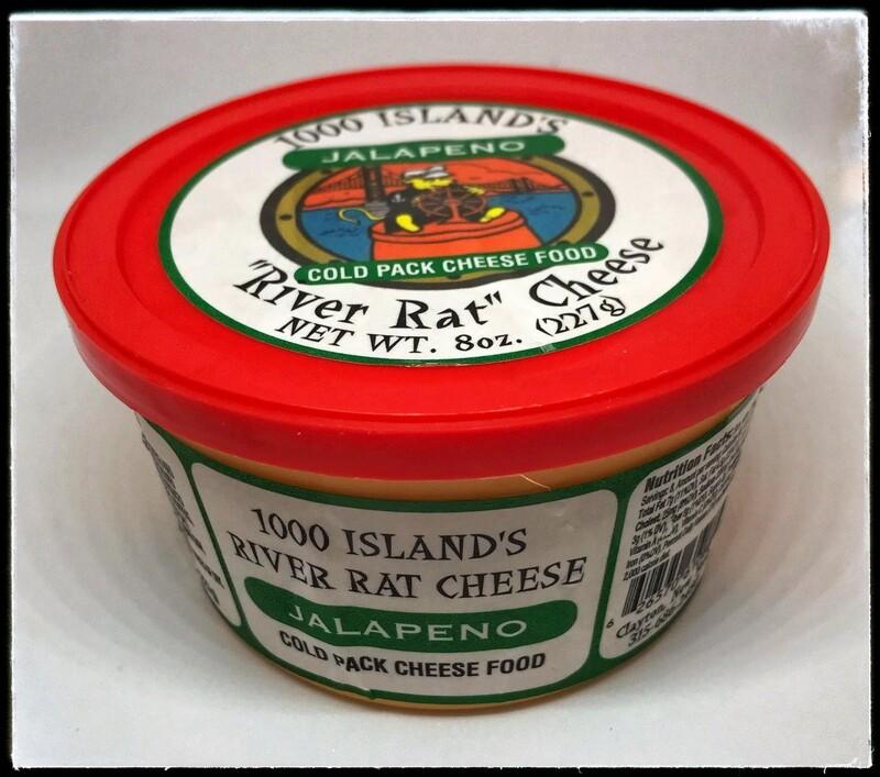 River Rat Jalapeno Cheese Tub