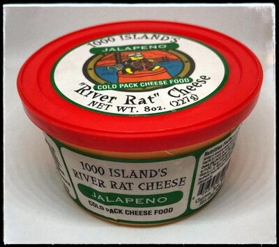River Rat Jalapeno Cheese Spread