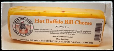 River Rat Hot Buffalo Bill Cheese