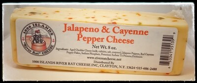 River Rat Jalapeno & Cayenne Pepper Cheese