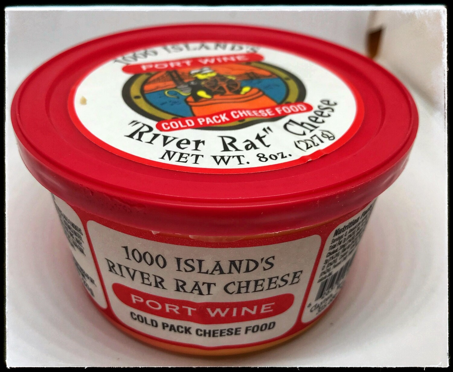 River Rat Port Wine Cheese Tub