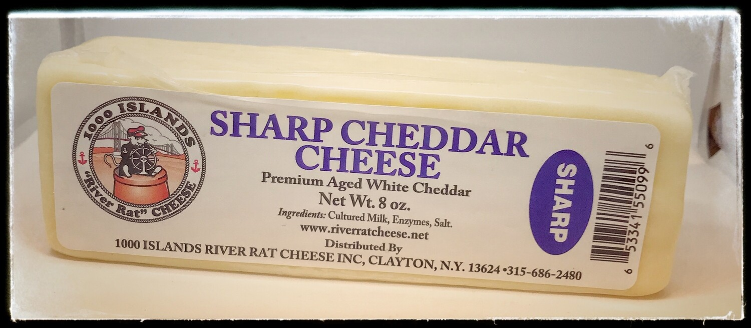 River Rat Sharp Cheddar Cheese