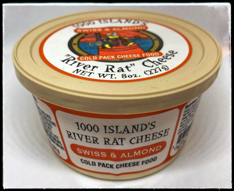 River Rat Swiss & Almond Cheese Spread