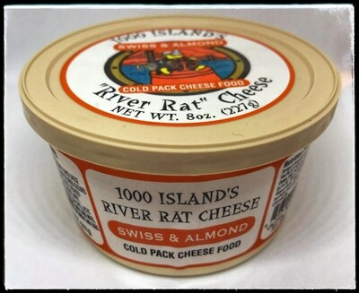 River Rat Swiss & Almond Cheese Tub