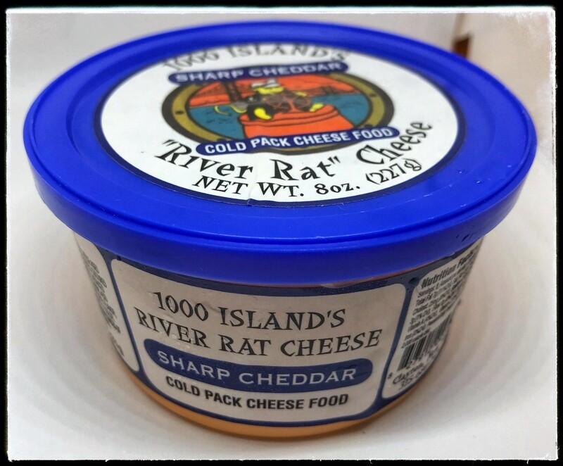 River Rat Sharp Cheddar Cheese Tub