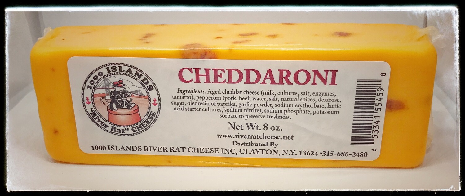 River Rat Cheddaroni Cheese