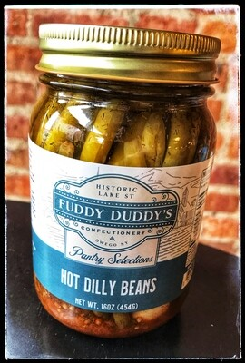 Fuddy Duddy's Hot Dilly Beans