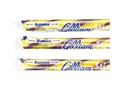 Old Fashioned Candy Sticks - Banana
