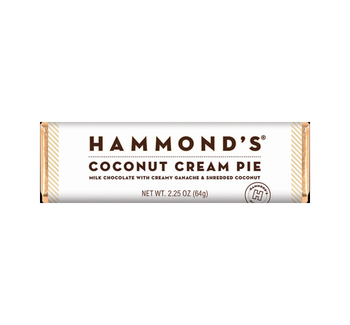 Hammond's Milk Chocolate Coconut Cream Pie Bar