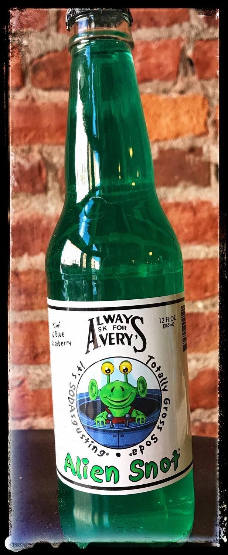 Avery's Gross Soda - Alien Snot