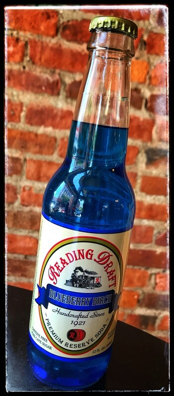 Reading Draft Soda - Blueberry Birch