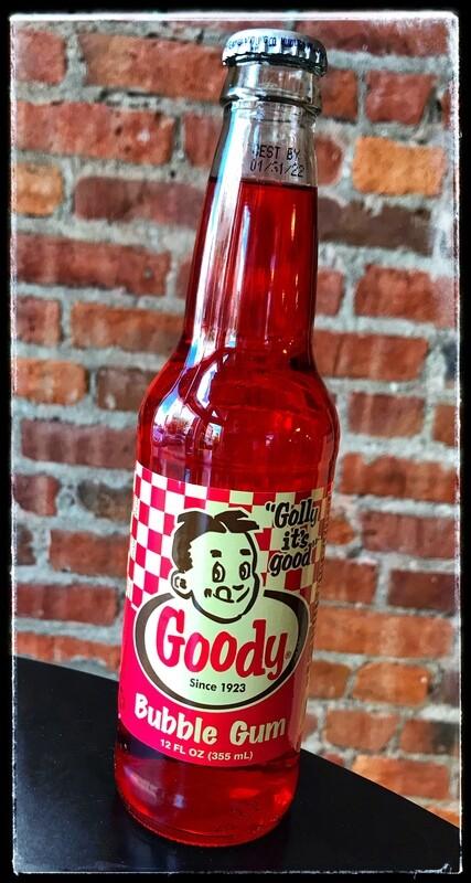 Goody Red Bubble Gum Soda