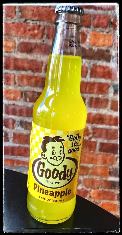 Goody Yellow Pineapple Soda
