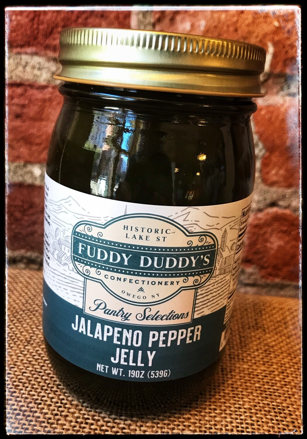 Fuddy Duddy's Jalapeno Pepper Jelly