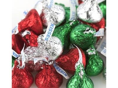 Christmas Hershey Kisses