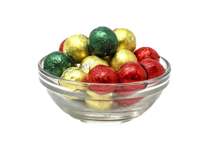 Dark Chocolate Christmas Ornaments