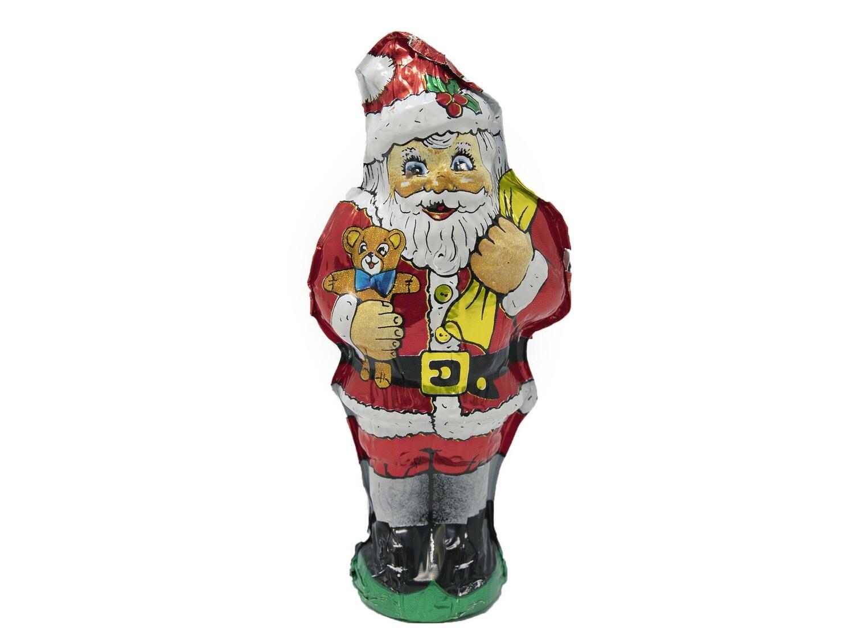 Swiss Chocolate Santas