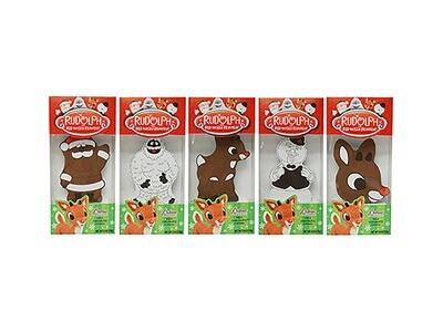 Rudolph the Red Nose Reindeer Milk Chocolate Characters