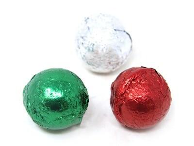 Chocolate Christmas Balls