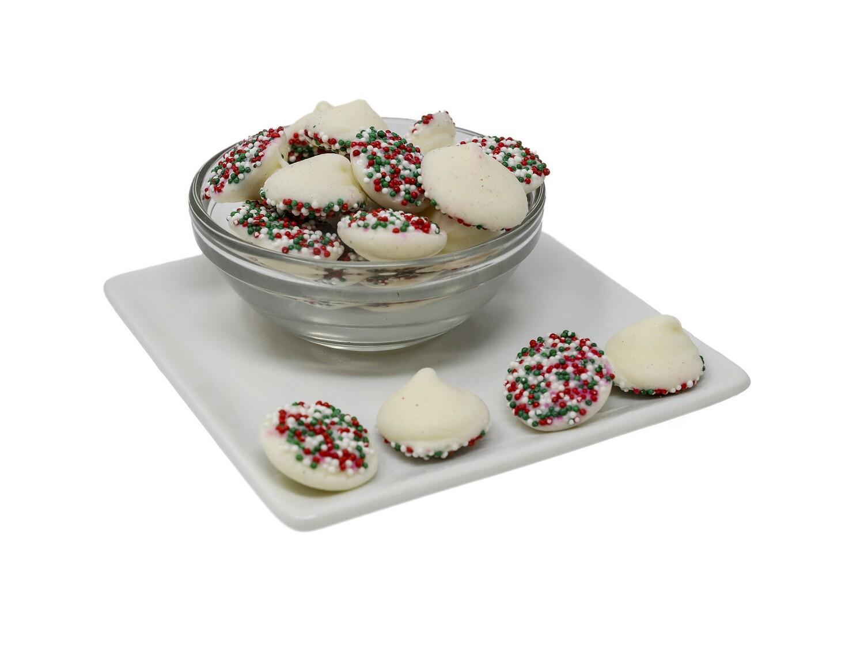 Christmas Mint Drop Nonpareils