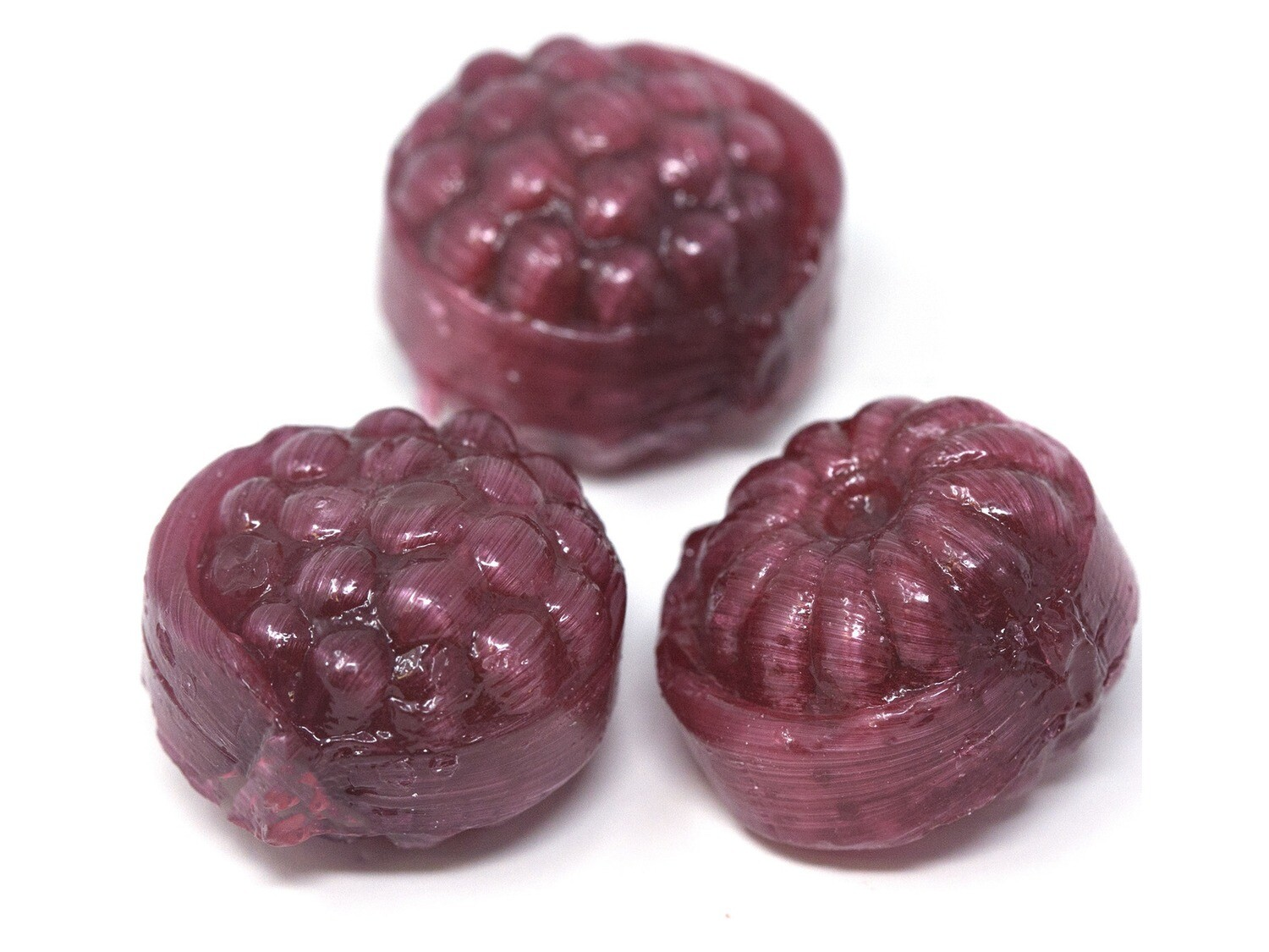 Filled Red Raspberries