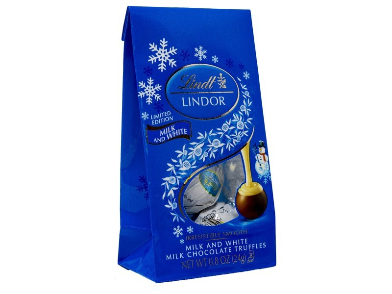 Lindt Milk & White Chocolate Truffles