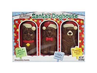 Santa's Doghouse Milk Chocolate