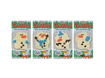 Puddles - Melted Snowman Chocolate