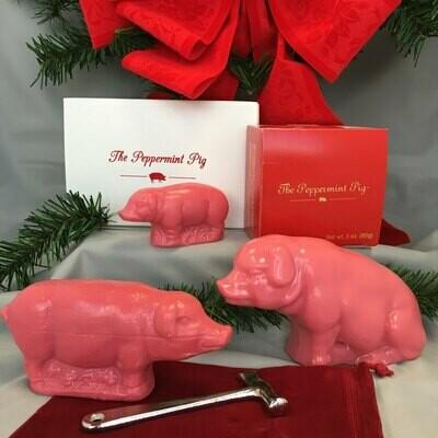 Noel the Saratoga Peppermint Pig - 8 oz