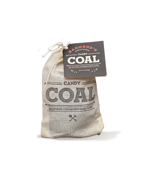 Hammond's Cinnamon Flavored Candy Coal