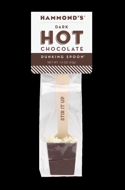 Hammond's Hot Chocolate Dunking Spoon - Dark Chocolate