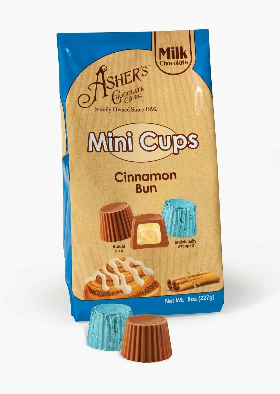 Milk Chocolate Cinnamon Bun Cups