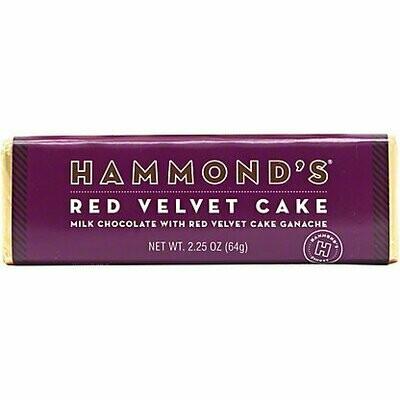 Hammond's Red Velvet Cake Chocolate Bar