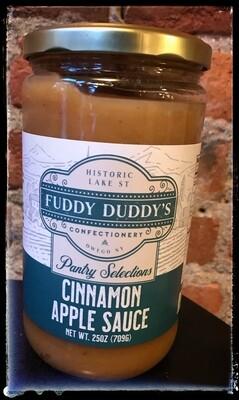 Fuddy Duddy's Cinnamon Apple Sauce