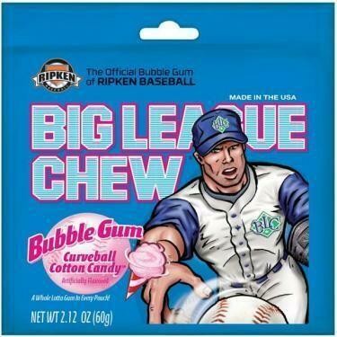Big League Chew Bubble Gum - Cotton Candy