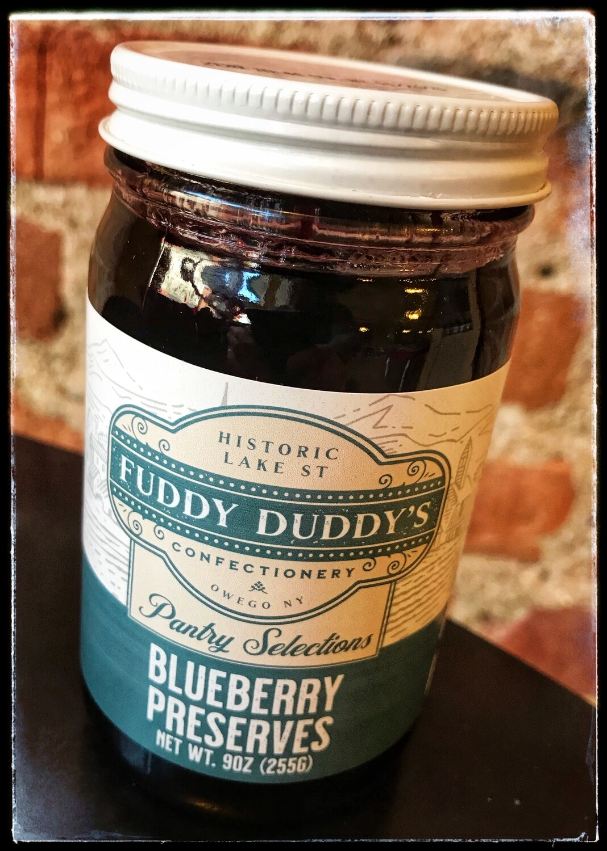 Fuddy Duddy's Blueberry Preserves