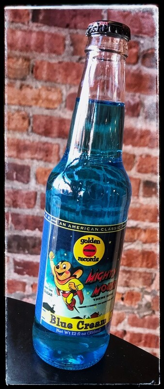 Mighty Mouse Blue Cream Soda