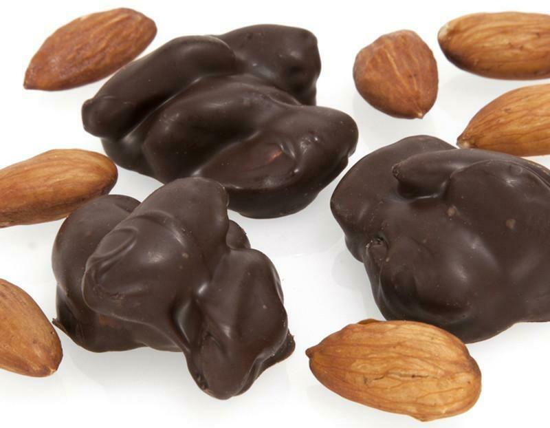 Dark Chocolate Almond Clusters