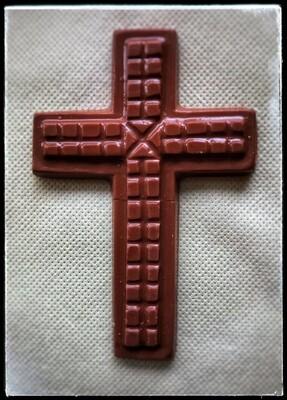 Easter Chocolate Cross - Small (Milk-Dark-White)