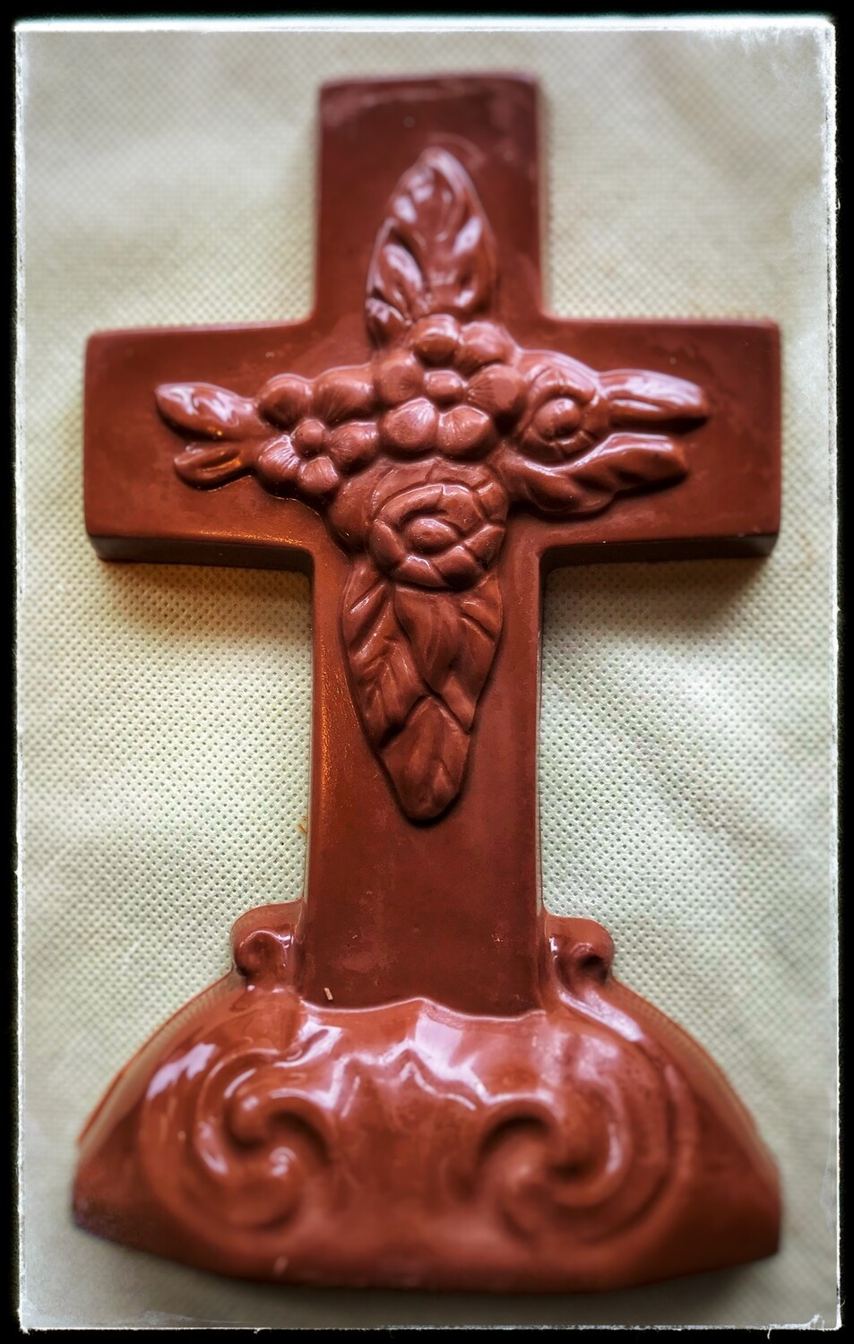 Easter Chocolate Cross - Large (Milk-Dark-White)