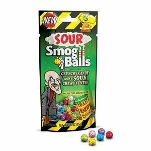 Sour Smog Balls Sour Candies