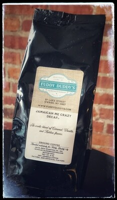 Fuddy Duddy's Decaf Coffee - Jamaican Me Crazy
