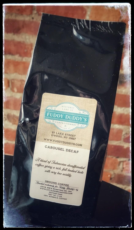 Fuddy Duddy's Decaf Coffee - Carousel