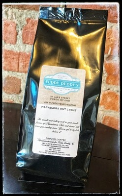 Fuddy Duddy's Ground Coffee - Macadamia Nut Creme