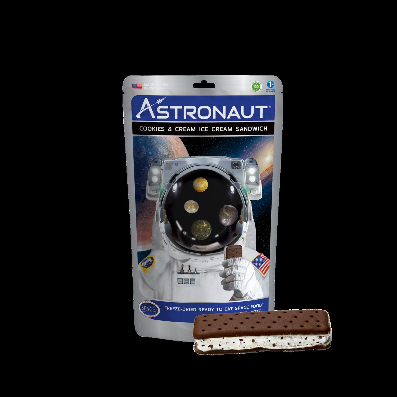 Astronaut Ice Cream Sandwich - Cookies & Cream